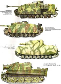 Camouflages, numerotation et marquages des Panzer Army Vehicles, Armored Vehicles, Tank Armor, Camouflage Colors, Tank Destroyer, Model Tanks, Armored Fighting Vehicle, Ww2 Tanks, Military Diorama