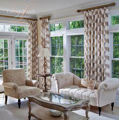Lauren Nicole Designs | Living Room Interior Design Decor Charlotte NC