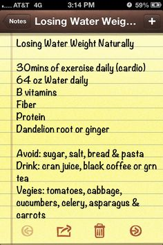 Losing water weight naturally and fast =) loose weight naturally Lose Water Weight, Loose Weight, How To Lose Weight Fast, Health Tips, Health And Wellness, Health Fitness, My Diet Plan, Diet Plans, Diabetes Remedies