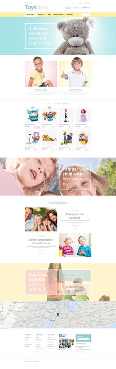 Toys Shop #PrestaShop Theme #52844