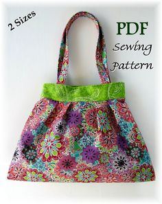 The Main Street Purse PDF Sewing Pattern and Tutorial  by emmamae, $5.99