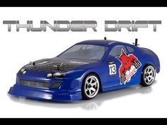 Redcat Racing Thunder Drift Blue RTR RC Drift Car