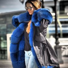 awesome fur lined parka