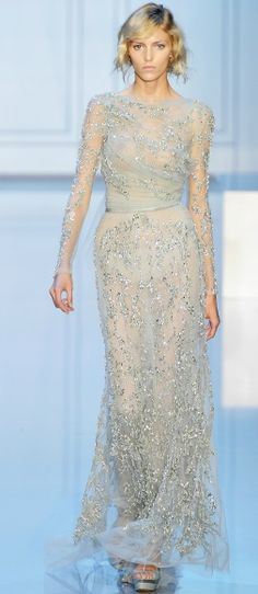 Essence of winter ... Elie Saab Fall Couture 2011