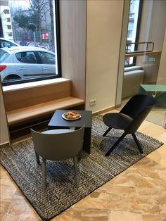 Tolles Plätzchen für eine Tasse Kaffee! #Coffeeshop #Hornig #Kaffeespezialitäten #e15 #That #StefanDiez #Massivholz #Lounge #coffeelover #interiordesign #createidentity #area
