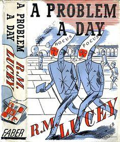 Edward Bawden design for A Problem a Day.