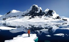"first time in Antarctica: ""Selfie!"" by Jay Jackson"