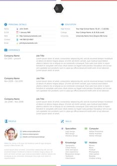 37 Best Free Resume Templates Images Free Resume Resume Cv Cv
