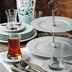 Turkish style i love it! Turkish Fashion, Turkish Style, Turkish Tea, Tiered Cakes, Plates, Tableware, Kitchen, Articles, Interiors