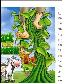 Kids yoga lesson plan for Jack and the Beanstalk