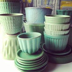 Nittsjö, Upsala Ekeby, Rörstrand and Gabriel pots - I´ve been collecting since I…