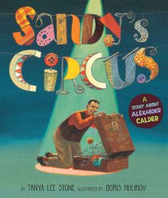 Sandy's Circus book cover  Online read-aloud about Calder