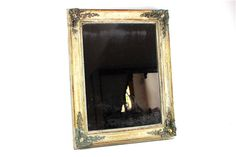 French Antique Gilded Frame Napoleon III by LePasseRecompose