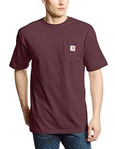 Carhartt Men's Workwear Pocket Short Sleeve T-Shirt Origi...