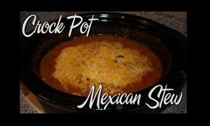 Mexican Stew in the Crock Pot