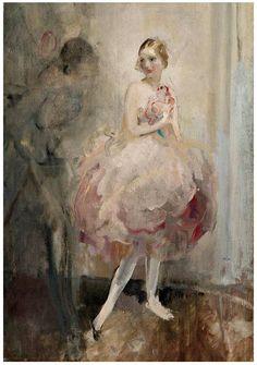 The Ballerina. Walter Ernest Webster (British, 1878-1959). Oil on canvas.