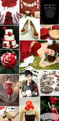 black and red wedding ideas #wedding #invitations #COLOR