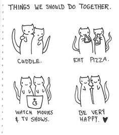 Things we should do together.