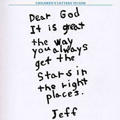 childrens letters to god out of the mouths of babes