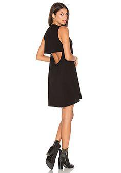 Michael Lauren Cyd Mini Dress in Black | REVOLVE