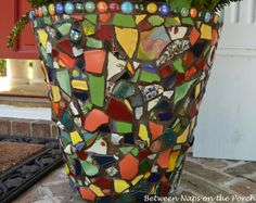a little of something Mosaic Pot