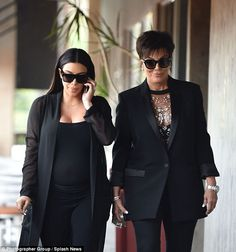 Welcome to Yetty Salam's blog: Kris Jenner steps out with daughter Kim K in a she...