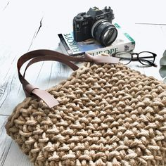 Woven Boho Minimalist Bohemian Bag Made From Natural Jute Straw Hessian Burlap With Vegan Leather Straps Ideal For Festivals And The Beach
