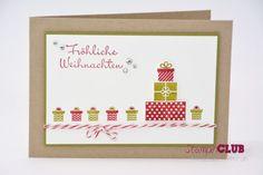 Stampin Up Christmas Weihnachten Wishing You WUnderbare Weihnachtsgrüße from www.stampinclub.de