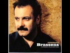 GEORGES BRASSENS - (FRANÇOIS VILLON) BALLADE DES DAMES DU TEMPS JADIS + LYRICS (LIVE)