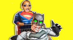 Batman Zombie Vs Superman Krogers Grocery Store Attack ZZ Kids TV