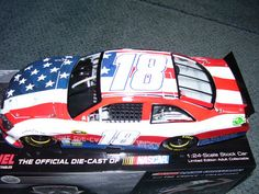 2011 #18 Kyle Bush M's Red,White, 9/11 Tribute Nascar Cars, Nascar Racing, Kyle Bush, Red White Blue, Ms