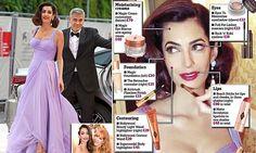 How Amal Clooney's makeup artist made her a walking advert