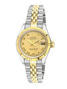 #GiftMe Estate Watches Women's Rolex Date Just Two Tone Jubilee Watch