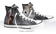 Harley Quinn Converse