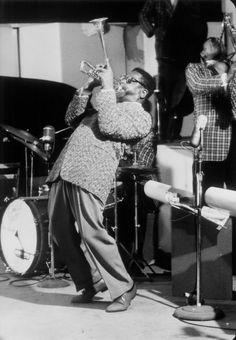 Dizzy Gillespie. Photographer, Dennis Stock, 1958