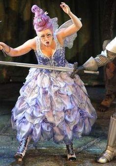 Joseph La Belle/FSView - sugar plum fairy.  Purple hair is fun.