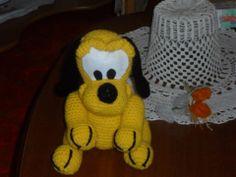 Disney Pluto lavoro amigurumi