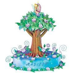 How to make a Treetop Tink Cake.