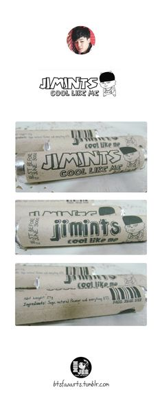 The Bangtan Food Project #4 JIMINTS Will help you grow abs. (A Big Stomach.) Main Ingredients: Suga, natural flavouring and everything BTS. Doesn't expire until Bangtan's 987th anniversary. Template...