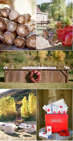 Aspen Wedding by Aaron Delesie + Lisa Vorce + Mindy Rice   Style Me Pretty