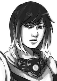 Commission Sketch- Kaliko by Lilith-the-5th.deviantart.com on @DeviantArt