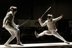 Sabre Fencing Sword There Are Three Types Of Fencing