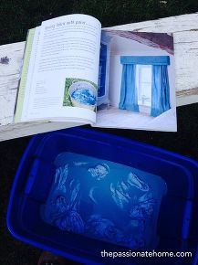 dyeing fabric with chalk paint decorative paint by annie sloan, chalk paint, painting, reupholster