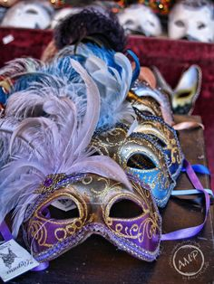 .Match your Tux or Ball dress up with a different mask every year.