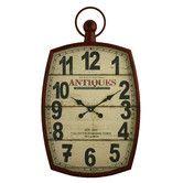 "Found it at Wayfair - Annalise 19.5"" Pocket Watch Wall Clock"