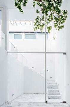 Intriguing cube escape by Abraham Cota Paredes Arquitectos