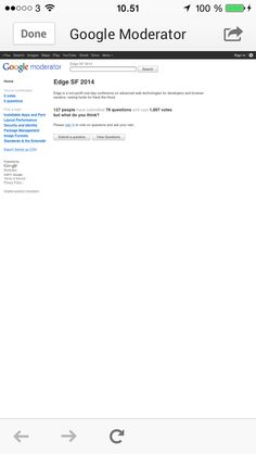 Google+ browser chrome