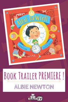 KidLit TV is proud to present the book trailer for Josh Funk& ALBIE NEWTON! Are your kid& fans of inventions? How about friendship? With exciting adventures and ideas, everyone will love Albie Newton& journey to make new friends! Kids Fans, Book Trailers, Make New Friends, Book Design, Inventions, The Book, Friendship, Presents, Journey