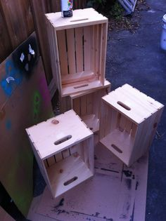 Found some crates for sale at Michaels for around 8$.  http://m.imgur.com/a/haEn1.   Love this can't wait to make it!!!!!!!!