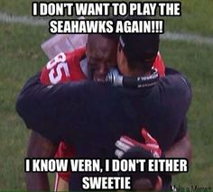 San Francisco 49er crying....lol. (I think the caption is funny :0)